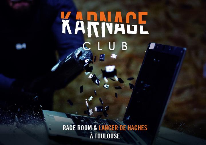 Couverture de la plaquette du Karnage Club